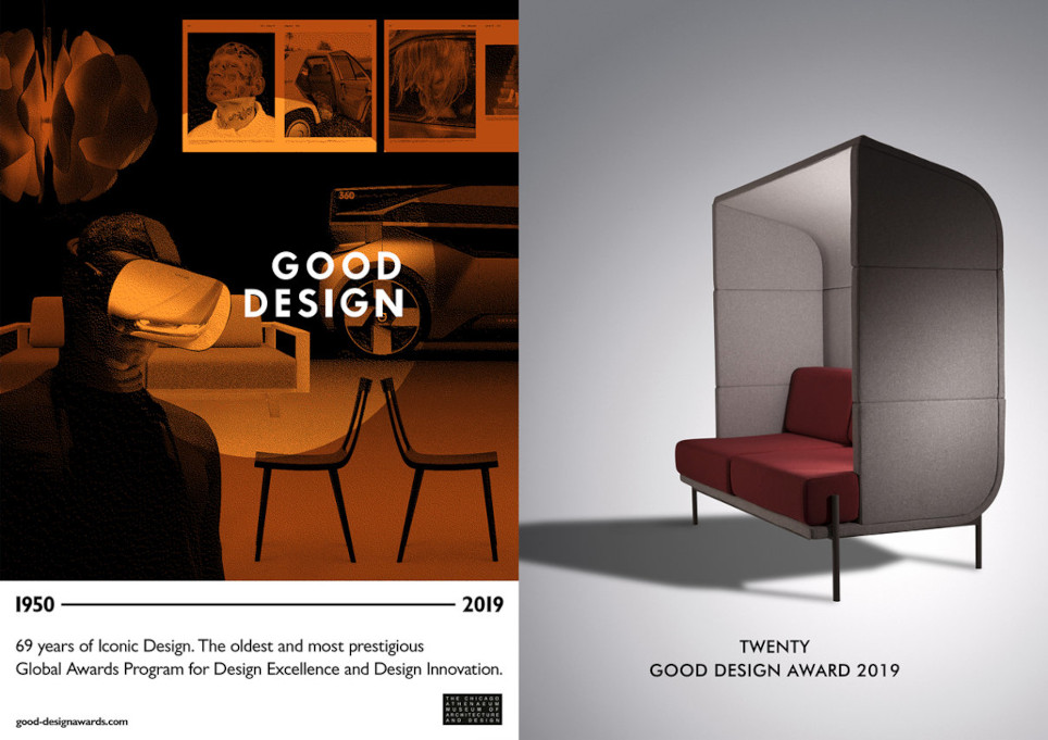Global Awards program Good Design Moschella Sedute